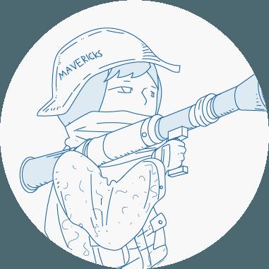 湘南のWEBデザイン会社、マーベリックスのキャラクター