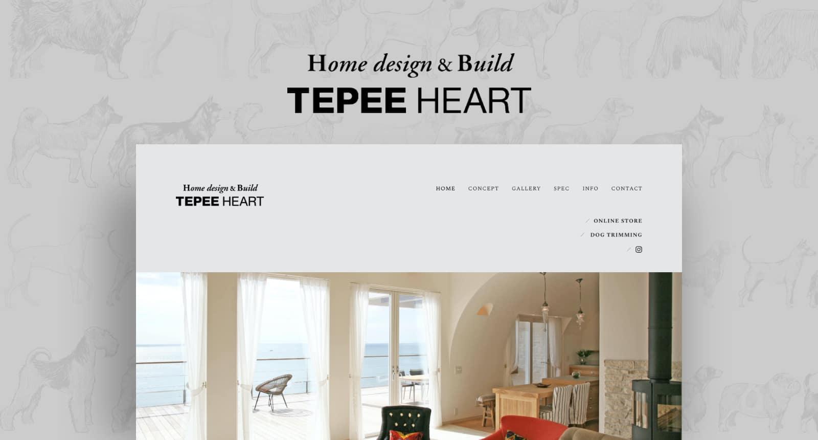 TEPEE HEART